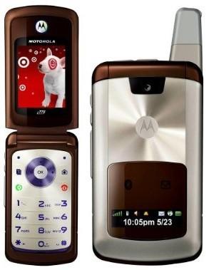 Motorola i776, con antena externa