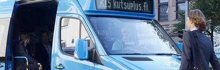 Kutsuplus en Helsinki