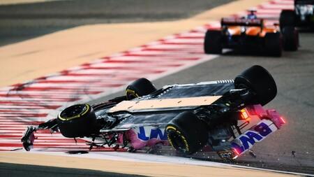 Stroll Barein F1 2020