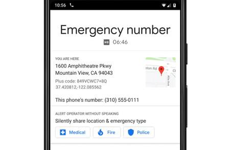 Google quiere que puedas llamar a emergencias sin hablar