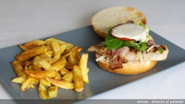 Receta de hamburguesa César