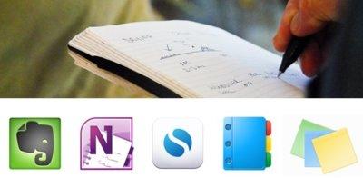 Ocho excelentes aplicaciones para tomar notas en Windows y en la Web