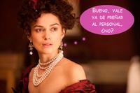 Keira Knightley ya no sabe cómo pediros que dejéis de embarazarla