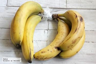 Truco sencillo para que los plátanos duren más tiempo sin ponerse negros