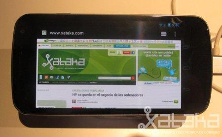 Galaxy Nexus, primera toma de contacto