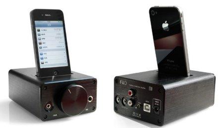 FiiO E9i, amplificador de auriculares de sobremesa con dock para iPod/iPhone: A Fondo