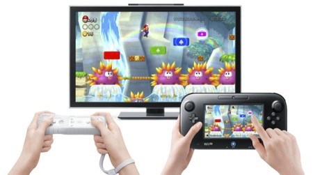 New Super Mario Bros U Gamepad