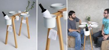 La Cool Vie Bohème, una mesa para espacios mínimos
