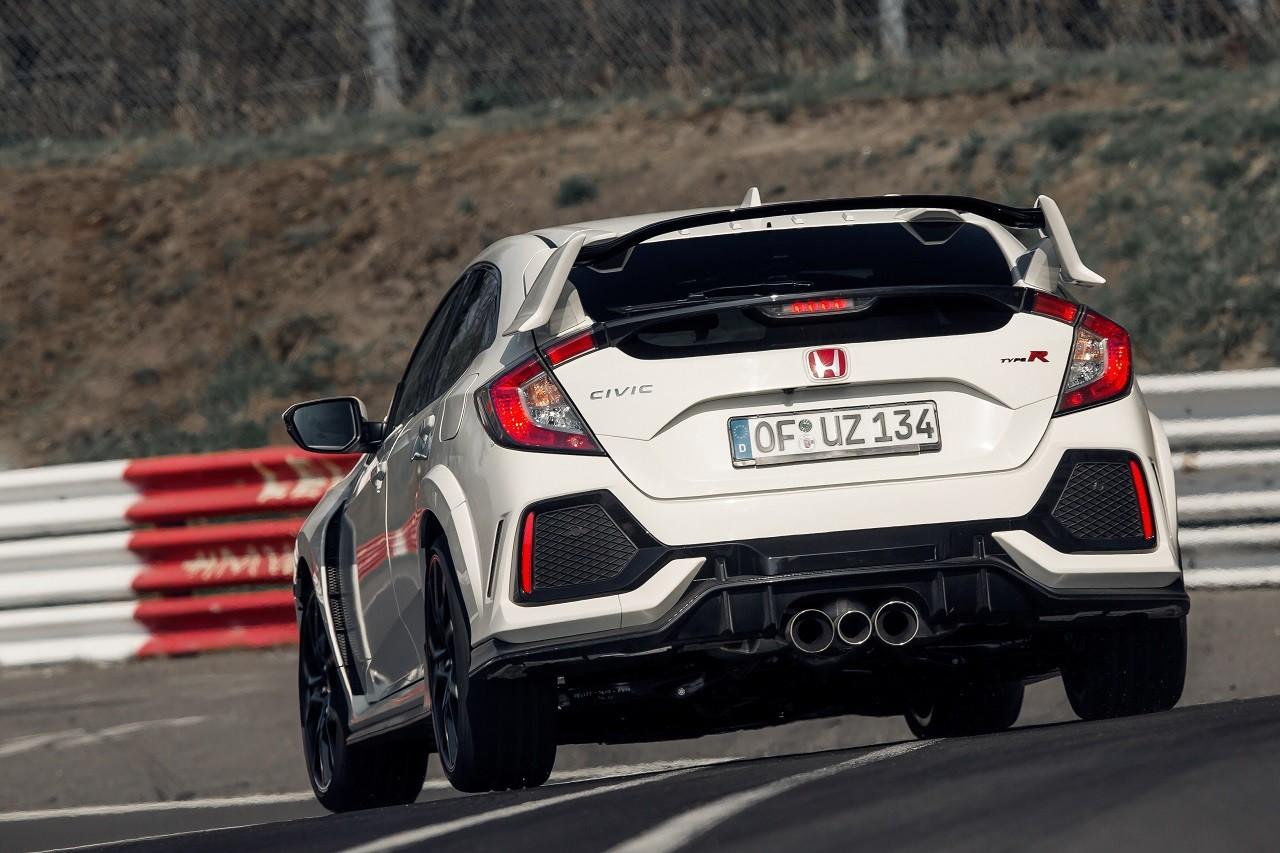 Foto de Honda Civic Type R 2017 en Nürburgring (4/6)
