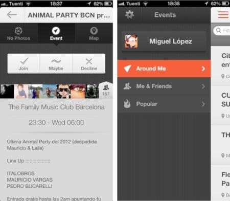 Vamos, una red social móvil para descubrir y compatir eventos cerca de ti
