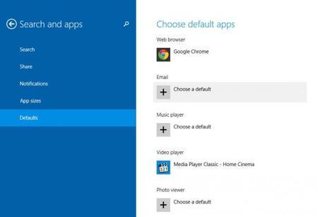 ¿Cómo elegir las aplicaciones predeterminadas para abrir un tipo de archivo en Windows 8.1?