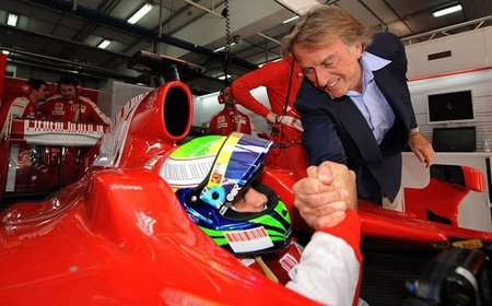 Luca Cordero di Montezemolo dixit: Felipe Massa necesita hacer una gran temporada para seguir en Ferrari
