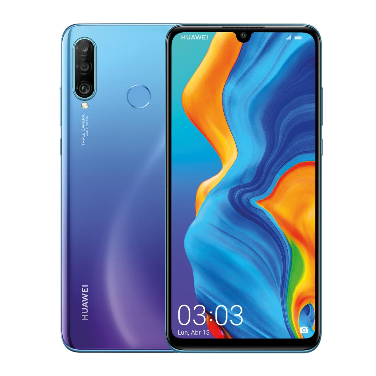 El Huawei P30 Lite es uno de los móviles más vendidos de España, y con su nuevo precio sin duda repetirá en el ranking de 2019. Posee una pantalla con notch, 4 GB de RAM, 128 GB de almacenamiento y cámara trasera de triple sensor, así como NFC para pagos electrónicos.