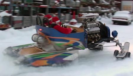Estas navidades Santa Claus viene en trineo V8