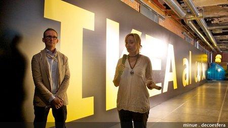 Ikea al cubo, arte con objetos de decoración