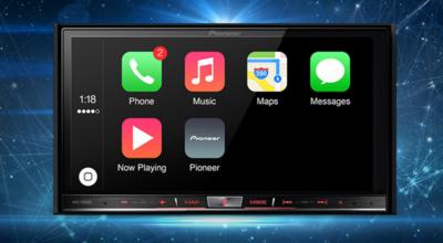 Pionner añadirá Carplay a tu coche actualizando algunos de sus sistemas integrados