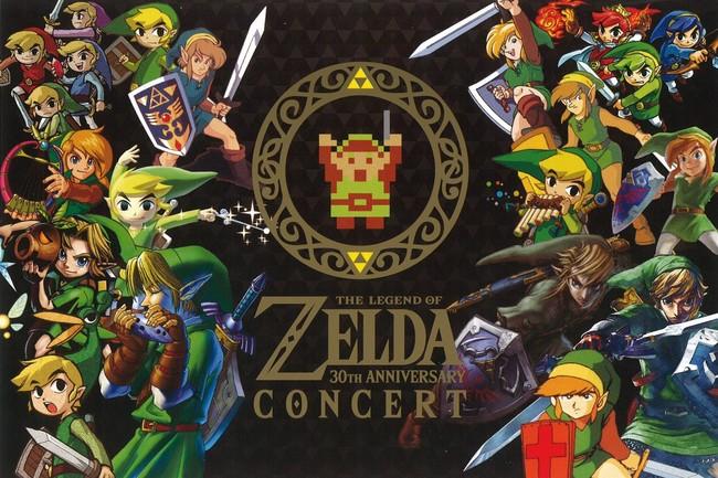 The Legend Of Zelda Concierto 30 Aniversario