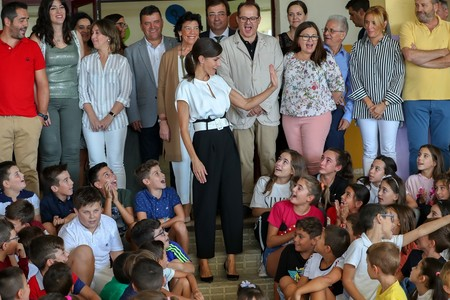 Letizia Ortiz Colegio 3