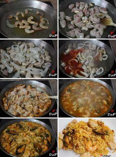 Cómo hacer una paella