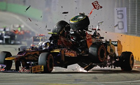 Schumacher Singapur F1 2012