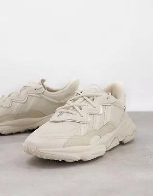 Zapatillas de deporte beis Ozweego de adidas Originals