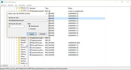Editor De Registro En Windows 10 2