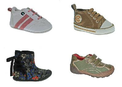 Zapatillas para los bebés todoterreno