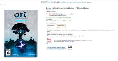 Ori And The Blind Forest Edicion Limitada Amazon