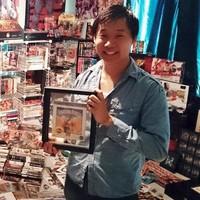 Imagen de la semana: el mayor coleccionista de Street Fighter de todo el mundo