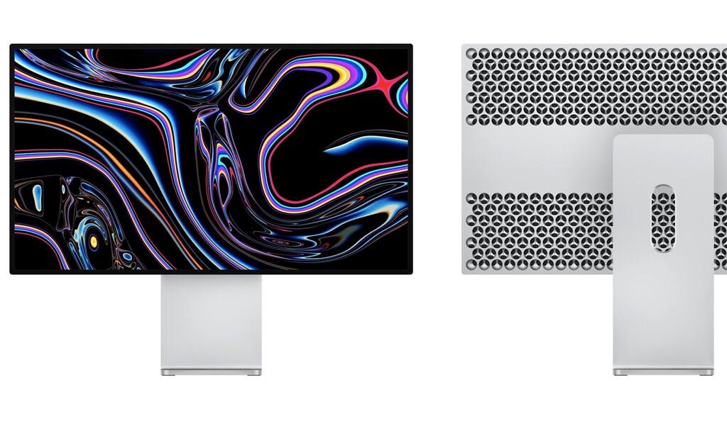 Apple patenta un soporte para dos Pro Display XDR pensando en los profesionales más exigentes