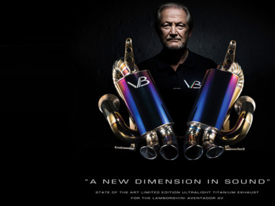 Valentino Balboni lanza una compañía de preparaciones...  para Lamborghini, por supuesto