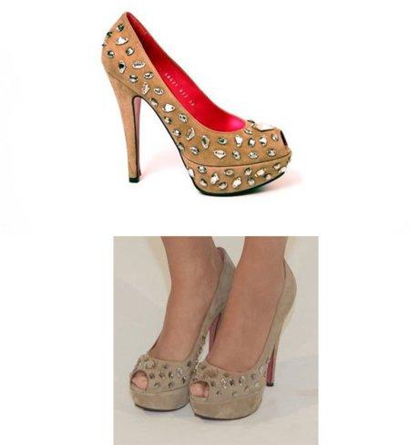 Zapatos de Úrsula Mascaró lucidos por Sara Carbonero