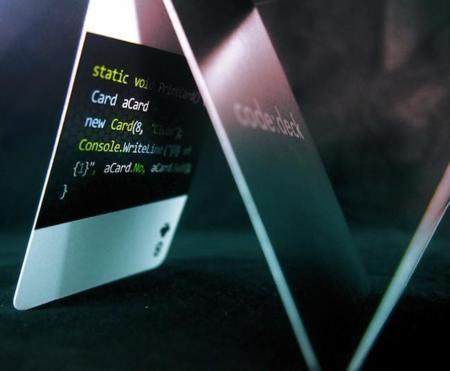 Una baraja de cartas apta solo para programadores. ¿Eres del gremio?