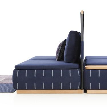 Neri&Hu colabora con GAN para reinventar el sofá a través de modulos y otros elementos
