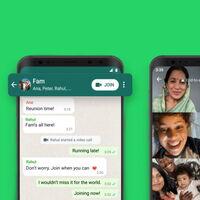 WhatsApp ya nos permite unirnos a llamadas en curso desde el chat de un grupo