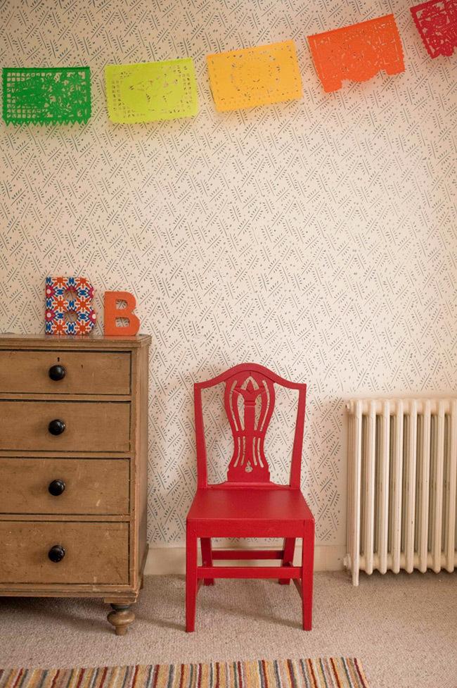 Foto de Rodillos con relieve que imitan el papel pintado (6/7)
