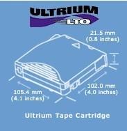 Ultrium LTO: hasta 1.6 TB de capacidad en cintas
