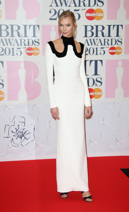 Karlie Kloss Brit Awards 2015