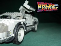 El DeLorean de 'Regreso al Futuro' en Lego