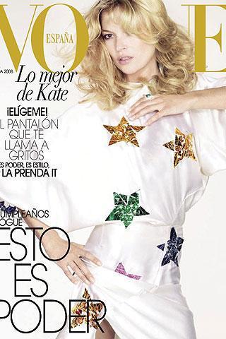 Foto de 20 aniversario de Vogue España: Kate Moss en portada (3/4)