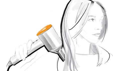 Edicion Limitada Ilustracion Dyson Supersonic