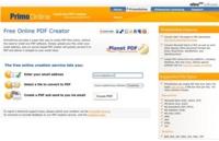 PrimoOnline, convierte más de 300 tipos de documentos a PDF