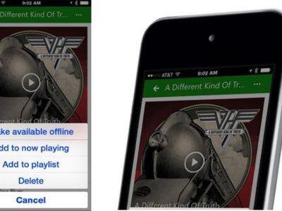 El streaming gratuito de canciones de OneDrive está disponible ahora en iOS y Android