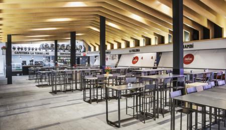 Dentro del mercado de Chamberí encontrarás un espacio gastronómico lleno de solera