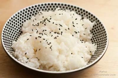 Receta de arroz glutinoso al vapor