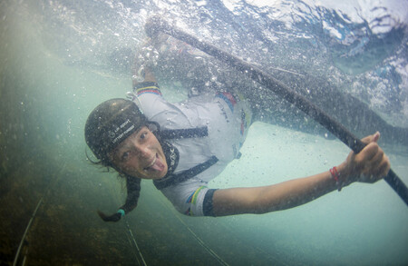 Mallory Franklin British Slalom Canoeist Who Has Completed Optimized