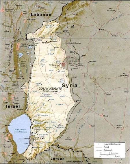 Golan Heights Rel89 Orig