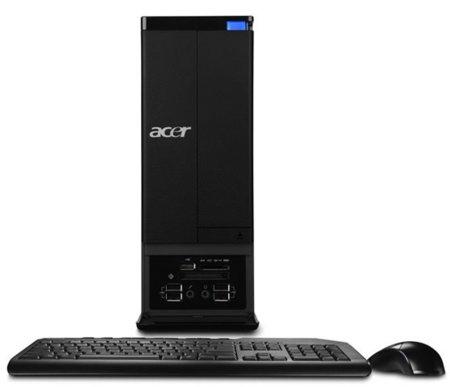 Acer Aspire X3 y M3 series, ordenadores de sobremesa pequeños pero matones