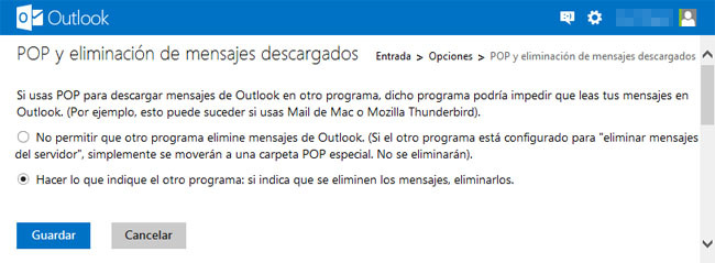 Configurar Outlook.com en Android