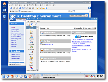 KDE 3.5, el niño bonito de Linux